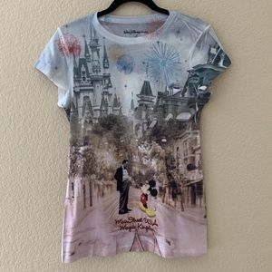 Walt Disney World Mickey Women's Shirt Main Street